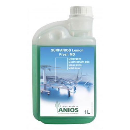 Anios SURFANIOS LEMON FRESH MD Preparat do dezynfekcji i mycia powierzchni nieinwazyjnych wyrobów medycznych (1000 ml)