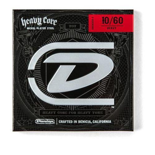 Dunlop Heavy Core Guitar 6 Strings Heavy 010, 013, 017, 036, 052, 060