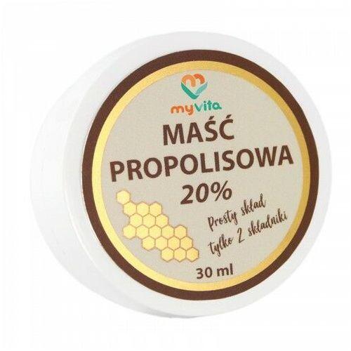maść propolisowa 20% 30ml marki Myvita
