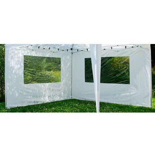Ścianki, ścianka do pawilonu ogrodowego biała 2 szt. 3x3m