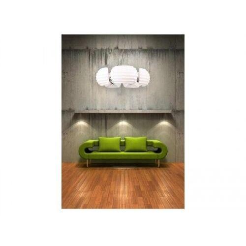 rondo az0115 dh 6081-5 lampa wisząca zwis oprawa 5x40w e14 biała/chrom marki Azzardo