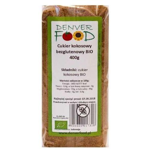 Cukier Kokosowy Bezglutenowy BIO 400 g Denver Food, 5906660017318