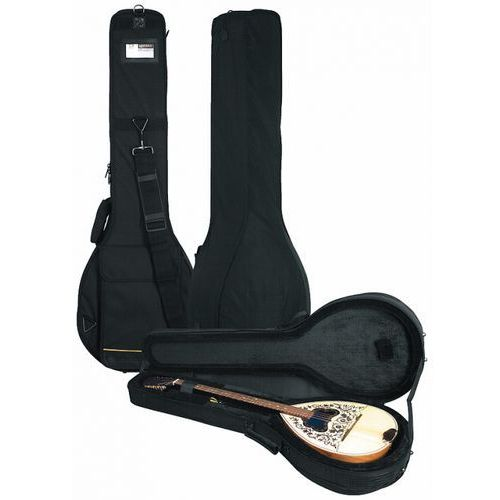 Rockcase rc-20143-b deluxe line soft-light case, futerał do instrumentu typu bouzouki (greek)
