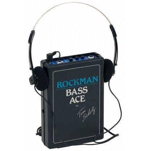 Dunlop rockman bass ace ″ wzmacniacz słuchawkowy do gitary basowej