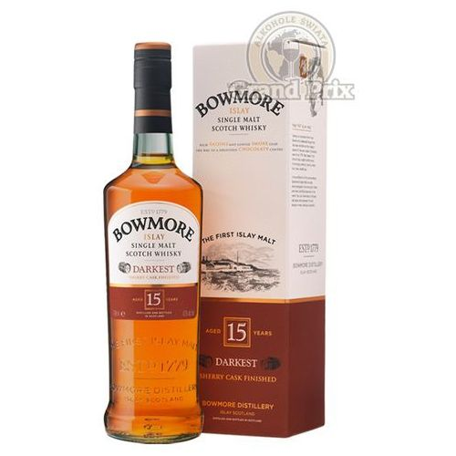 Morrison bowmore distillery ltd Whisky bowmore 15 yo darkest 0,7l