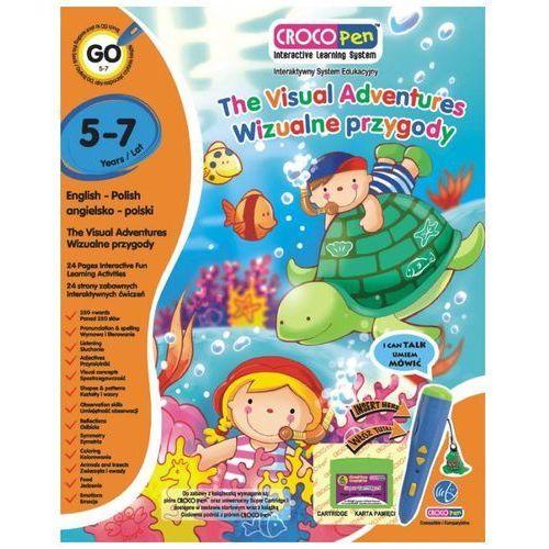 Książka CROCOLEARN KACP85013 Wizualne Przygody 5 - 7 lat