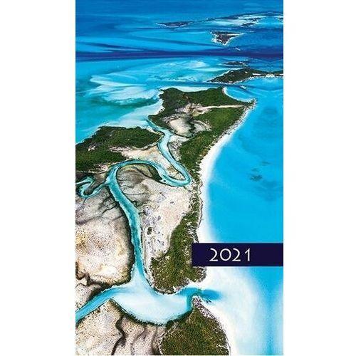 Edycja świętego pawła Kalendarz 2021 tygodniowy kolorowy pejzaż