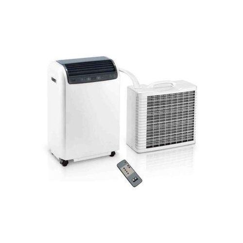 Klimatyzator przenośny rkl 491 - kolor biały - wydajność do 45 m2 marki Remko