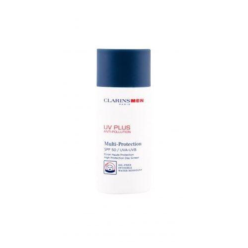 Clarins Men UV Plus Multi-Protection SPF 50 preparat samoopalający do twarzy 50 ml dla mężczyzn (3380810197600)
