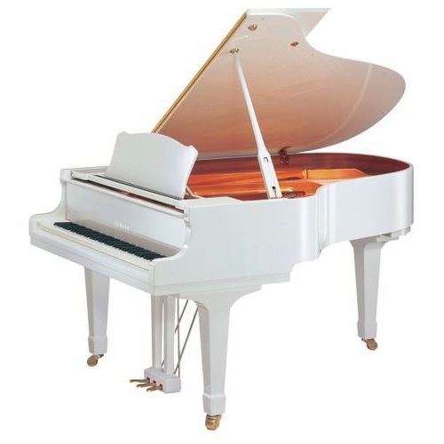 Yamaha gc1 m pwh baby grand fortepian, biały (161 cm)