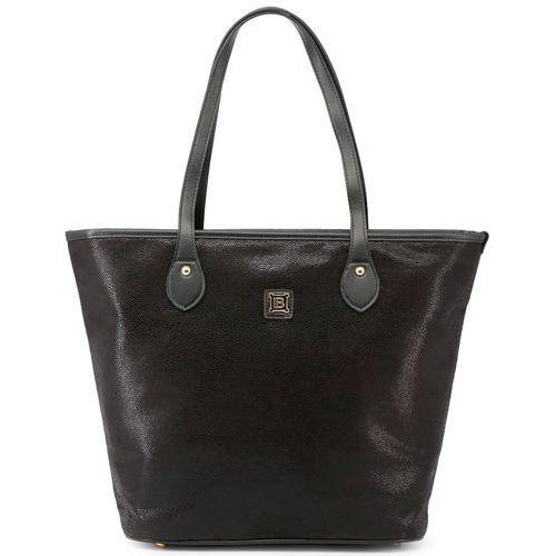 Laura Biagiotti torebka damska czarna, kolor czarny