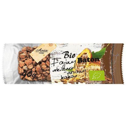 Baton orkiszowo-owsiany z kakao bio 40g. - bio ania marki Bioania