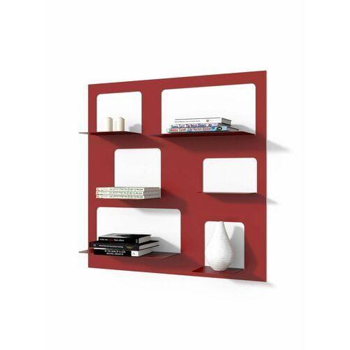 Biblioteczka Libra 3 - czerwony