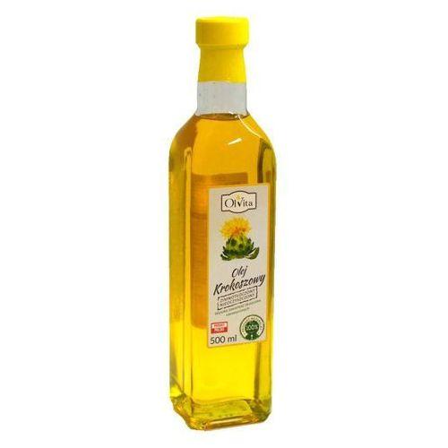 Olej krokoszowy z krokosza barwierskiego tłoczony na zimno 500ml - Olvita