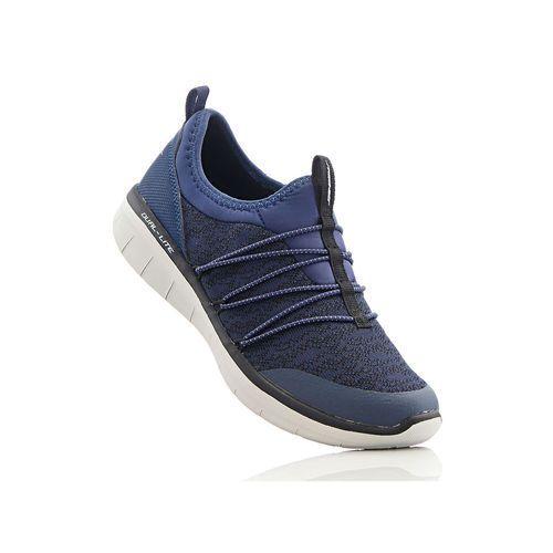Buty sportowe wsuwane Skechers z pianką Memory bonprix ciemnoniebieski, w 7 rozmiarach
