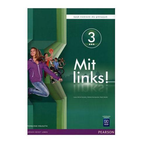 Mit links. Podręcznik. Gimnazjum część 3 (z CD audio) - Praca zbiorowa, WSiP