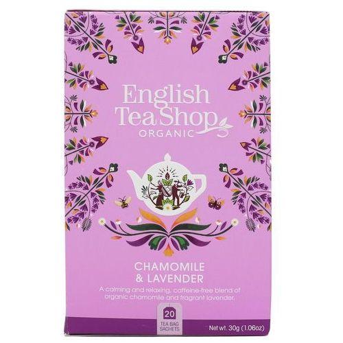 Herbatka ziołowa z rumiankiem i lawendą 20x1,5 g bio 30 g p marki English tea sho
