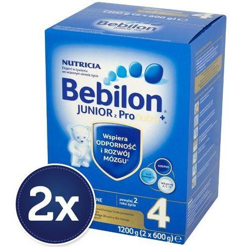 Zestaw 2x  1200g junior 4 z pronutra mleko modyfikowane powyżej 2 roku | darmowa dostawa od 150 zł!, marki Bebilon