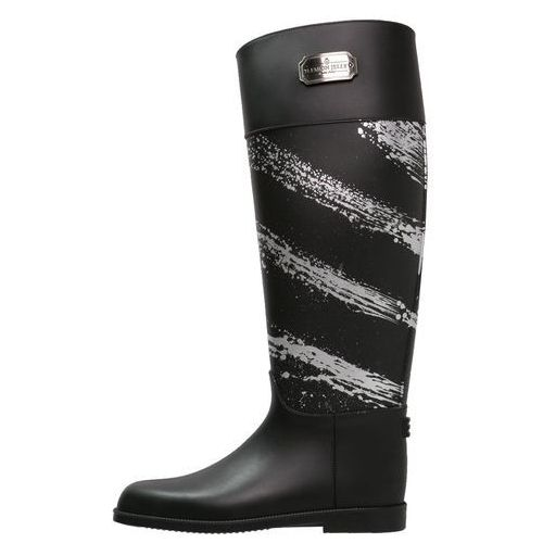 LEMON JELLY RAIN Kalosze black/silver (kalosz damski) od Zalando.pl