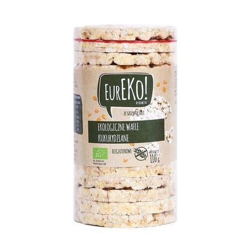 Wafle kukurydziane z solą bezglutenowe BIO 110 g Eureko