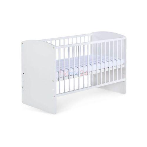 Klupś łóżeczko karolina ii białe 120x60 cm