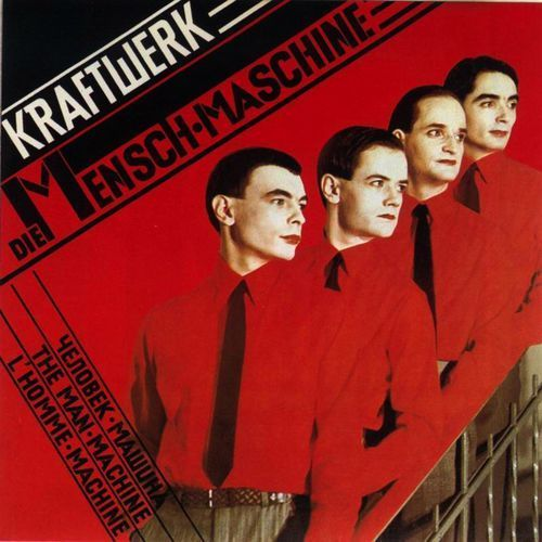 KRAFTWERK - THE MAN MACHINE (5099996602225)
