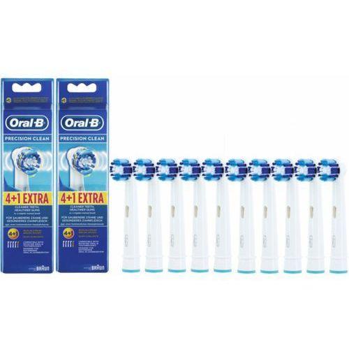 Oryginalna końcówka Oral-B Precision Clean EB-20 PROMOCJA 10 sztuk, 7F66-405182
