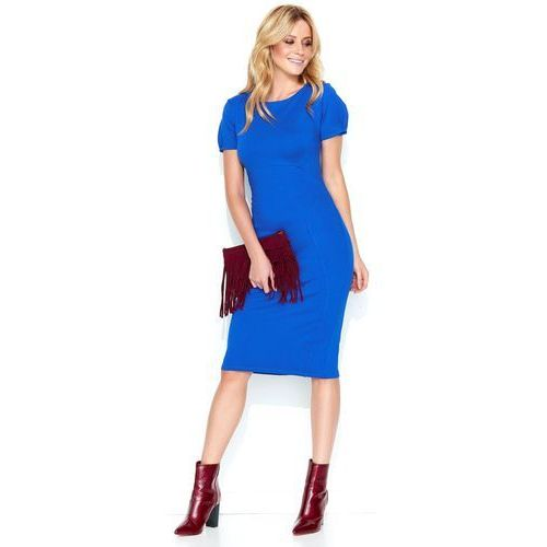 f9b3f8987e damska sukienka 46 niebieska marki Makadamia 259