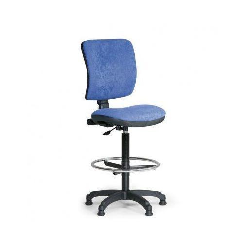 B2b partner Podwyższone krzesło biurowe milano ii - niebieske