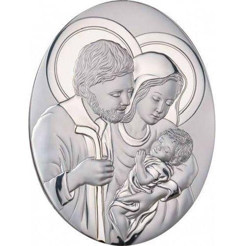 Produkt włoski Obrazek srebrny święta rodzina