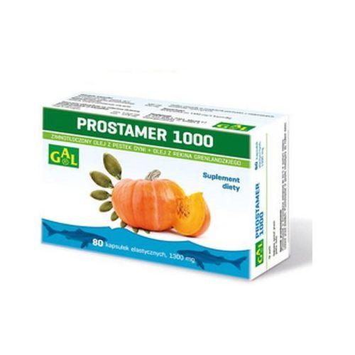 Prostamer 1000 (olej z pestek dyni + olej z rekina) 80 kaps., GAL