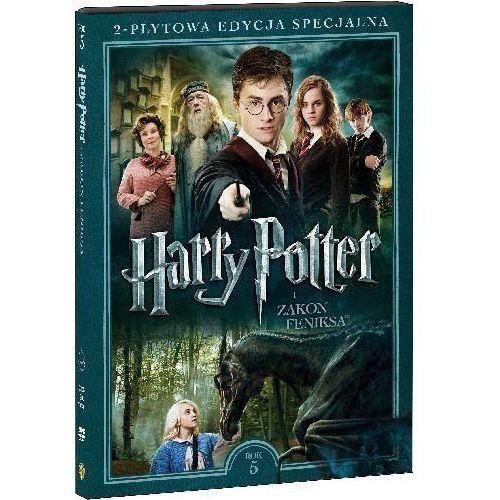 Galapagos Harry potter i zakon feniksa. 2-płytowa edycja specjalna (2dvd) (płyta dvd) (7321908174925)
