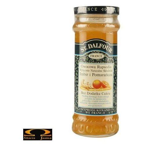 Owocowa rapsodia - imbir i pomarańcza 284g marki St. dalfour