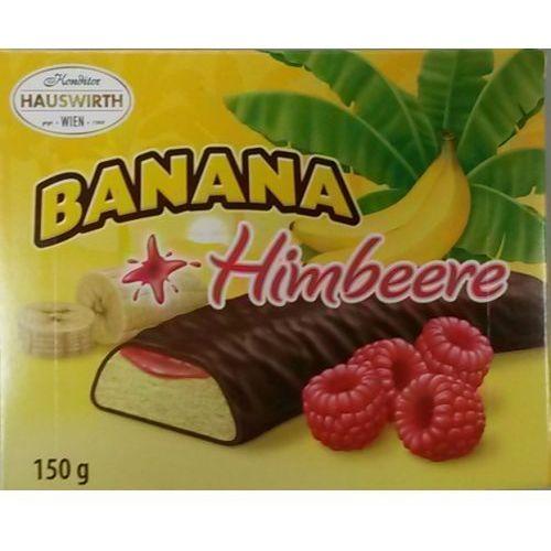 banana pianki bananowe w czekoladzie 150g marki Hauswirth