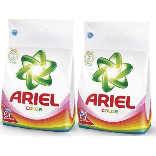 Ariel Zestaw 2 proszków do prania Color & Style 3,5 kg - 50 prań, 2szt. (proszek do prania ubrań)