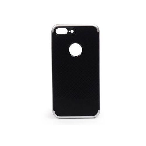 Apple iPhone 7 Plus - etui na telefon Ipaky - Srebrny, ETAP417IPKYSIV000