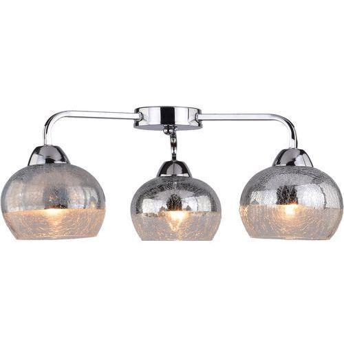 Plafon lampa oprawa sufitowa cromina ampla 3x60w e27 chrom 98-55651 marki Candellux