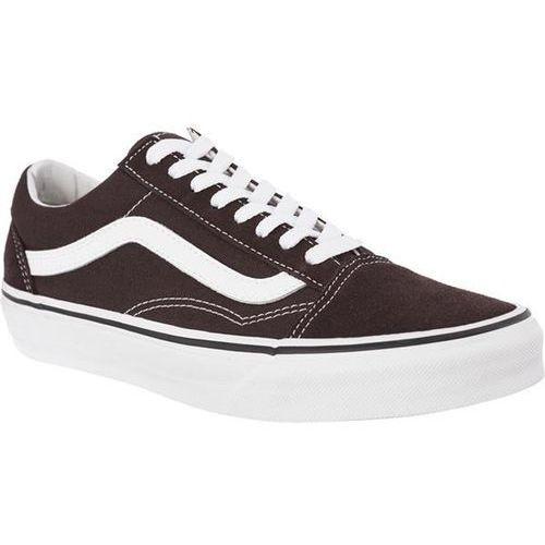 Vans old skool u5z chocolate torte true white - buty sneakersy