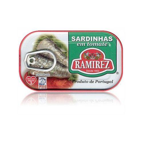 Sardynki portugalskie w pomidorach 125g marki Ramirez