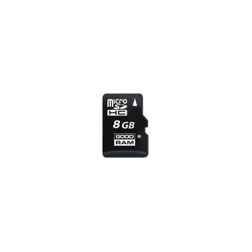 Karta GOODRAM MicroSDHC 8GB Class 4 + Zamów z DOSTAWĄ PRZED MAJÓWKĄ!