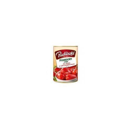 Pomidory całe bez skórki w soku pomidorowym 400 g Pudliszki