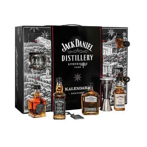 Kalendarz świąteczny adwentowy jack daniel's + 21 miniaturek 0,05l marki Jack daniel distillery