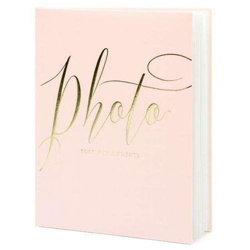 """Partydeco Album na zdjęcia """"precious moments"""", , 20 x 24,5 cm, pudrowy róż, 22 kartki"""