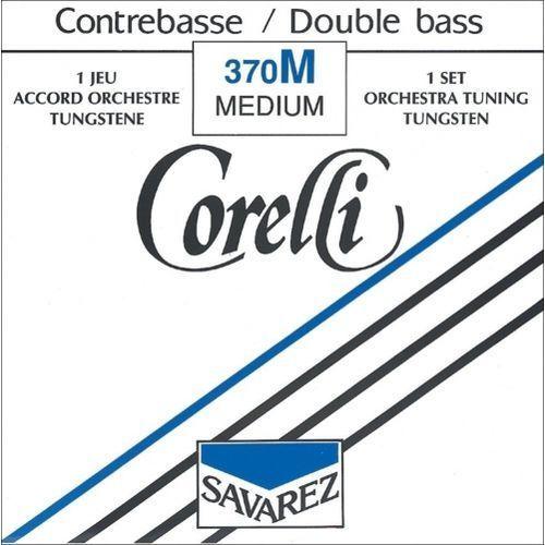 Savarez (642101) corelli struna do kontrabasu (orkiestrowe) - g (4/4 i 3/4) średnia - 371m