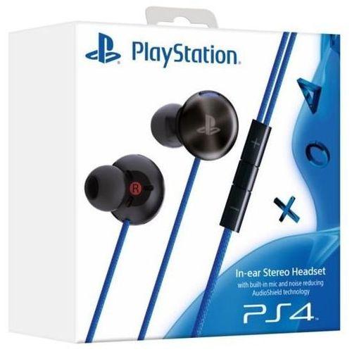 Sony Słuchawki in-ear headset ps4 czarno-niebieski
