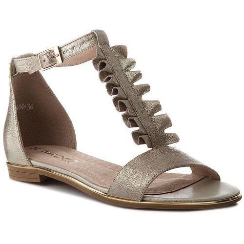 69eba982ae42b Sandały KARINO - 2444/074-P Złoty, kolor żółty 189,00 zł Uniwersalna  sugestia firmy Karino. Do codziennego charakteru butów nadaje się cholewka:  skóra ...