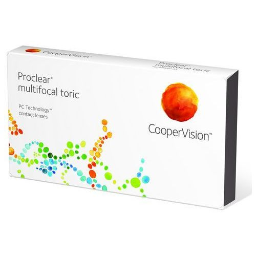 Cooper vision Proclear multifocal toric, 3 szt.