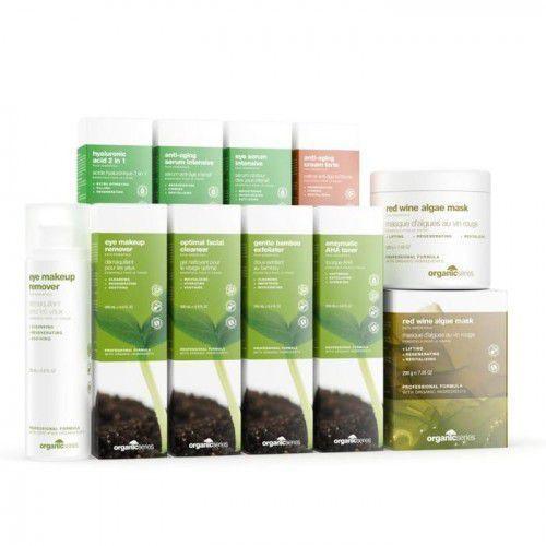 Organic series pakiet startowy platinum do twarzy + gratis