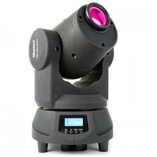 Beamz Panther 50 led spot movinghead ruchoma głowa efekt świetlny 9 gobo 7 kolorów