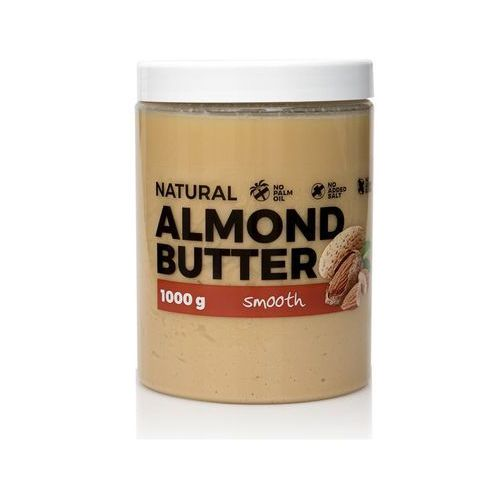 7 nutrition Masło orzechowe 7nutrition migdałowe crunchy/smooth 1000g najlepszy produkt